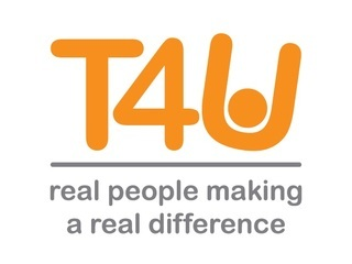 TEAMS4U THE CHARITY logo