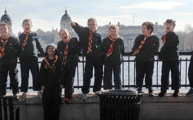 How 1st Ealing North Scout Group worked with Give as you Live