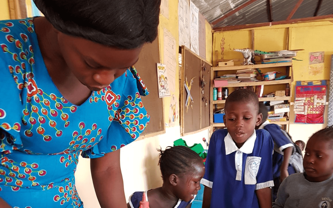 How Ebo Town Community Nursery School worked with Give as you Live