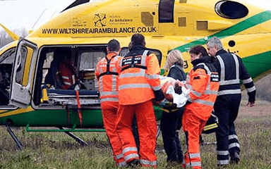 How Wiltshire Air Ambulance worked with Give as you Live